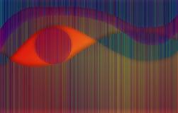 L'oeil du Ra illustration de vecteur