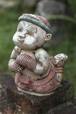 L'oggetto d'antiquariato di Muaythai decora in Tailandia Immagini Stock Libere da Diritti