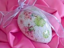 L'oggetto d'antiquariato ha decorato l'uovo fotografia stock libera da diritti