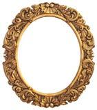 L'oggetto d'antiquariato ha dorato la pagina Fotografia Stock