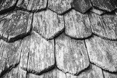 L'oggetto d'antiquariato piastrella in bianco e nero Fotografia Stock