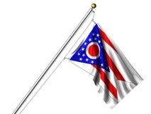 l'Ohio d'isolement par indicateur illustration stock