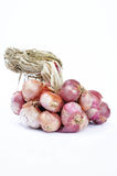 L'oignon rouge, légumes, épices, assaisonnent l'ingrédient de nourriture populaire d'A photo stock