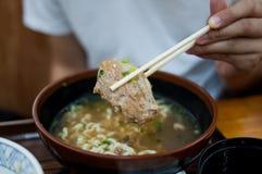 l'Okinawa Soba Image stock