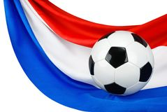 L'Olanda ama il gioco del calcio Fotografia Stock