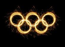 L'olympiade Sotchi Russie de 2014 hivers Photographie stock