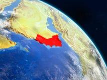 L'Oman de l'espace illustration de vecteur