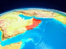 L'Oman de l'orbite Photographie stock libre de droits