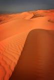L'Oman: Sabbie di Wahiba Fotografia Stock