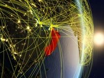 L'Oman su pianeta Terra di reti immagini stock