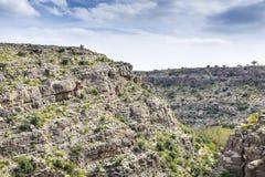 L'Oman Wadi Bani Habib Image libre de droits