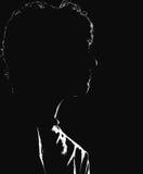 L'ombre de la musique Photos libres de droits