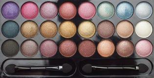 L'ombre de palette observe le maquillage Photos libres de droits
