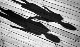L'ombre des enfants images libres de droits