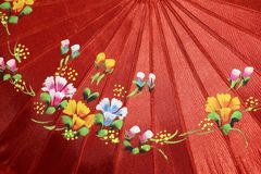 L'ombrello tradizionale Myanmar Birmania del Myanmar Immagini Stock Libere da Diritti