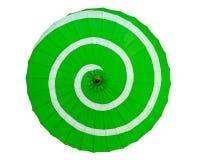L'ombrello verde Immagine Stock
