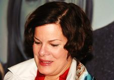 L'omosessuale di conquista di Marcia dell'attrice del Premio Tony si indurisce immagini stock libere da diritti