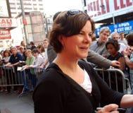 L'omosessuale di Marcia dell'attrice si indurisce su Broadway immagini stock