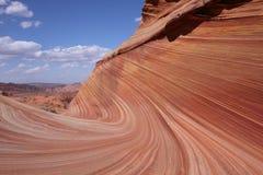 L'onda, Arizona Fotografia Stock Libera da Diritti