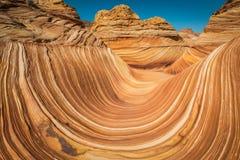 L'onda dell'Arizona Fotografia Stock Libera da Diritti