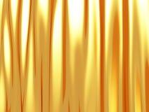 L'onda elegante dorata lucida allinea il fondo Fotografia Stock Libera da Diritti
