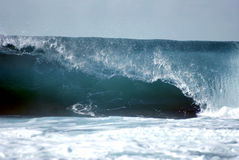 L'onda perfetta Fotografia Stock