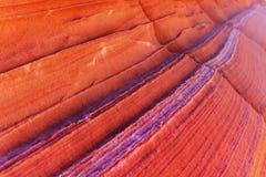 L'onda - reticolo della roccia fotografie stock libere da diritti