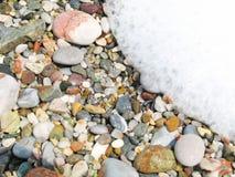 Wave sta precipitandosi dentro Fotografia Stock