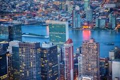 L'ONU de l'Empire State Building Photos libres de droits