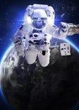 L'ONU dell'astronauta lo spazio Immagine Stock Libera da Diritti