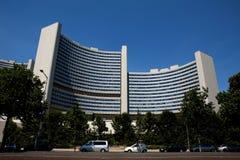 l'ONU Vienne de bâtiment Photos stock