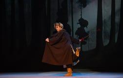 "L'opéra de chef-Pékin de peloton de reconnaissance ""Taking le  de € de Tiger Montain By Strategyâ photos libres de droits"