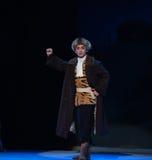 """L'opéra de chef-Pékin de peloton de reconnaissance """"Taking le  de € de Tiger Montain By Strategyâ image libre de droits"""