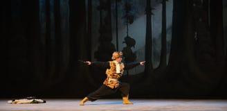 "L'opéra de coin-Pékin de la boxe-étape une de tigre ""Taking le  de € de Tiger Montain By Strategyâ Photo stock"