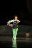 L'opéra de Jiangxi de fille de pays une balance Photos libres de droits