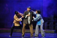 L'opéra de Jiangxi de mauvaises nouvelles une balance Photos libres de droits