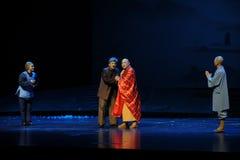 L'opéra de Jiangxi du conseil de l'abbé une balance Image stock