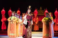 """L'opéra de mariage-Jiangxi de l'empereur de dirigeant-Le de cérémonie """"Red le  de pearl†Photographie stock"""