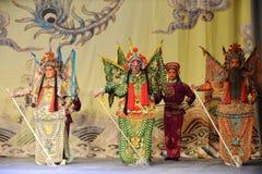 L'opéra des Généraux visage-Pékin : Adieu à ma concubine Images libres de droits
