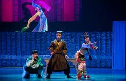 L'opéra folklorique de cueillette de thé Images libres de droits