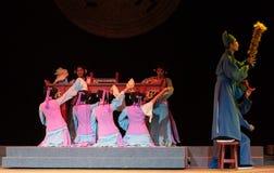 """L'opéra groupe-riche et influent d'employé de famille-Jiangxi """"Red le  de pearl†Image libre de droits"""