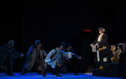 "L'opéra secret de carte-Pékin de contact ""Taking le  de € de Tiger Montain By Strategyâ photo stock"