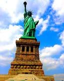 L'opera d'arte di Bartholdi Fotografia Stock