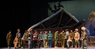 """L'opera di massa diriunione-Pechino che """"Taking il  del € di Tiger Montain By Strategyâ Fotografia Stock Libera da Diritti"""