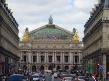 L'opera di Parigi Fotografie Stock Libere da Diritti