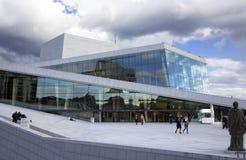 L'opera ed il balletto nazionali norvegesi Fotografie Stock Libere da Diritti
