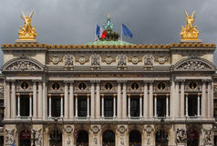 L'opera Garnier a Parigi Immagini Stock Libere da Diritti