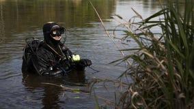 L'operatore subacqueo fotografia stock libera da diritti