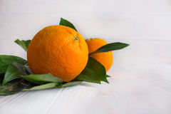 L'orange est au coeur Photographie stock