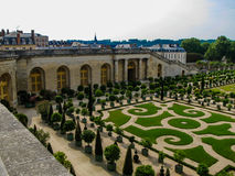 L'Orangerie garden in Versailles. Paris, France Stock Image